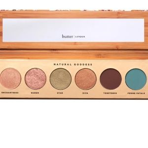 NEW UNUSED BUTTER LONDON NATURAL GODDESS PALETTE